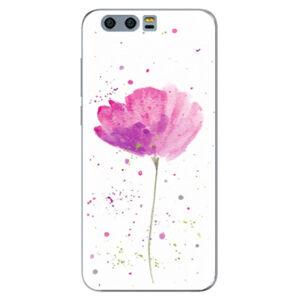Silikónové puzdro iSaprio - Poppies - Huawei Honor 9