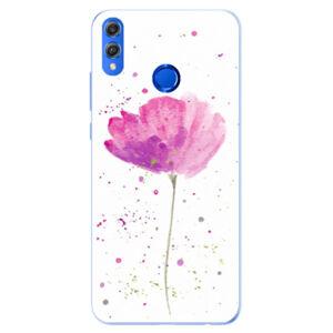 Silikónové puzdro iSaprio - Poppies - Huawei Honor 8X
