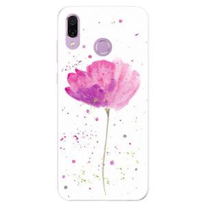 Silikónové puzdro iSaprio - Poppies - Huawei Honor Play