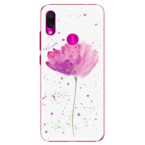 Plastové puzdro iSaprio - Poppies - Xiaomi Redmi Note 7