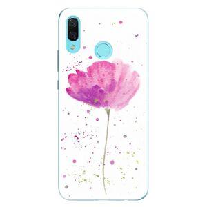 Odolné silikónové puzdro iSaprio - Poppies - Huawei Nova 3