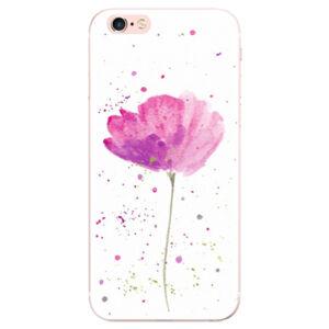 Odolné silikónové puzdro iSaprio - Poppies - iPhone 6 Plus/6S Plus