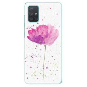 Plastové puzdro iSaprio - Poppies - Samsung Galaxy A71