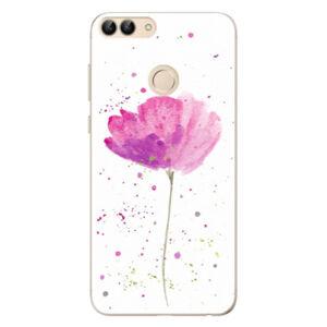 Odolné silikónové puzdro iSaprio - Poppies - Huawei P Smart
