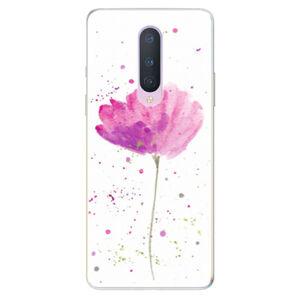 Odolné silikónové puzdro iSaprio - Poppies - OnePlus 8