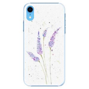 Plastové puzdro iSaprio - Lavender - iPhone XR