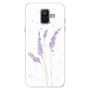 Silikónové puzdro iSaprio - Lavender - Samsung Galaxy A6