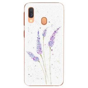 Plastové puzdro iSaprio - Lavender - Samsung Galaxy A40