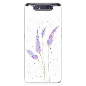 Odolné silikónové puzdro iSaprio - Lavender - Samsung Galaxy A80