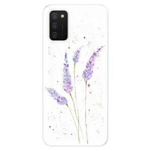 Odolné silikónové puzdro iSaprio - Lavender - Samsung Galaxy A02s