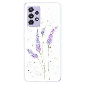 Odolné silikónové puzdro iSaprio - Lavender - Samsung Galaxy A52/A52 5G