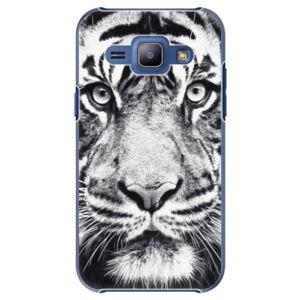 Plastové puzdro iSaprio - Tiger Face - Samsung Galaxy J1