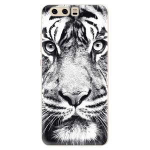 Silikónové puzdro iSaprio - Tiger Face - Huawei P10