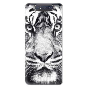Odolné silikónové puzdro iSaprio - Tiger Face - Samsung Galaxy A80