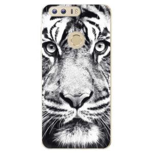 Odolné silikónové puzdro iSaprio - Tiger Face - Huawei Honor 8