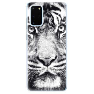Odolné silikónové puzdro iSaprio - Tiger Face - Samsung Galaxy S20+