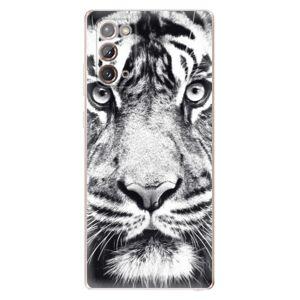 Odolné silikónové puzdro iSaprio - Tiger Face - Samsung Galaxy Note 20