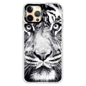 Silikónové puzdro Bumper iSaprio - Tiger Face - iPhone 12 Pro Max