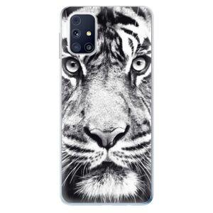 Odolné silikónové puzdro iSaprio - Tiger Face - Samsung Galaxy M31s