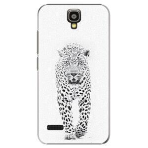 Plastové puzdro iSaprio - White Jaguar - Huawei Ascend Y5