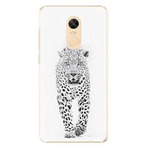 Plastové puzdro iSaprio - White Jaguar - Xiaomi Redmi Note 4X