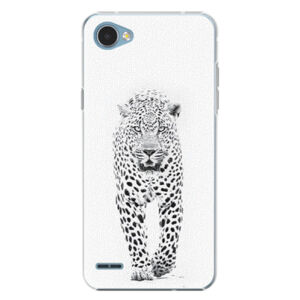 Plastové puzdro iSaprio - White Jaguar - LG Q6