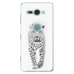 Plastové puzdro iSaprio - White Jaguar - Sony Xperia XZ2 Compact