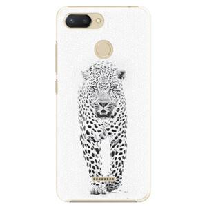 Plastové puzdro iSaprio - White Jaguar - Xiaomi Redmi 6