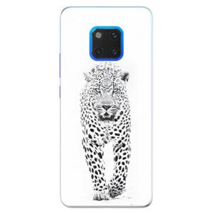Silikónové puzdro iSaprio - White Jaguar - Huawei Mate 20 Pro