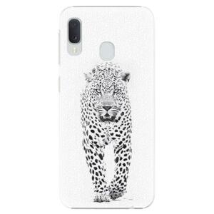 Plastové puzdro iSaprio - White Jaguar - Samsung Galaxy A20e