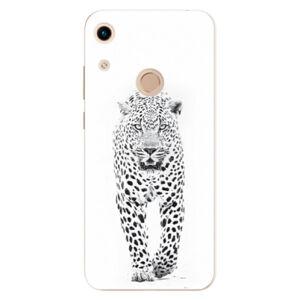 Odolné silikónové puzdro iSaprio - White Jaguar - Huawei Honor 8A