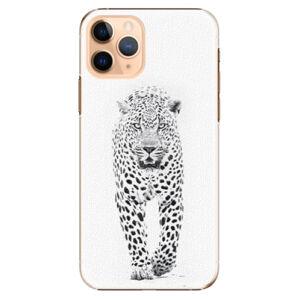 Plastové puzdro iSaprio - White Jaguar - iPhone 11 Pro
