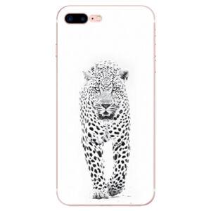 Odolné silikónové puzdro iSaprio - White Jaguar - iPhone 7 Plus