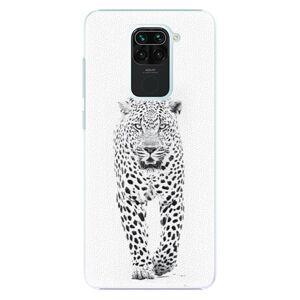 Plastové puzdro iSaprio - White Jaguar - Xiaomi Redmi Note 9