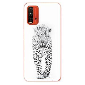 Odolné silikónové puzdro iSaprio - White Jaguar - Xiaomi Redmi 9T
