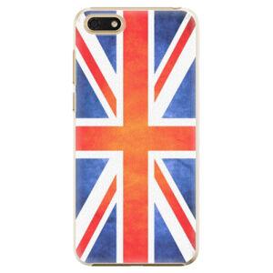 Plastové puzdro iSaprio - UK Flag - Huawei Honor 7S