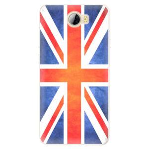 Silikónové puzdro iSaprio - UK Flag - Huawei Y5 II / Y6 II Compact