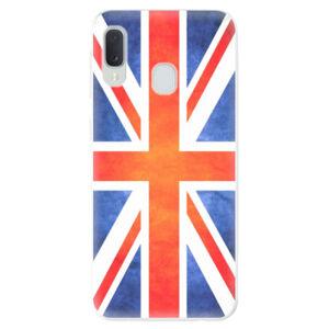 Odolné silikónové puzdro iSaprio - UK Flag - Samsung Galaxy A20e