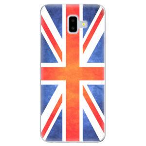 Odolné silikónové puzdro iSaprio - UK Flag - Samsung Galaxy J6+