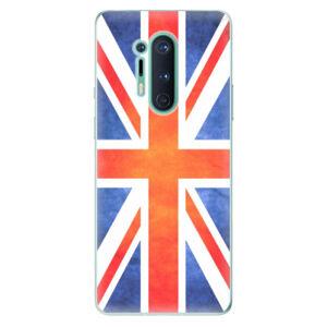 Odolné silikónové puzdro iSaprio - UK Flag - OnePlus 8 Pro