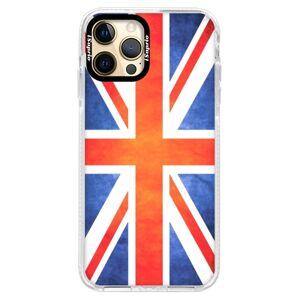 Silikónové puzdro Bumper iSaprio - UK Flag - iPhone 12 Pro