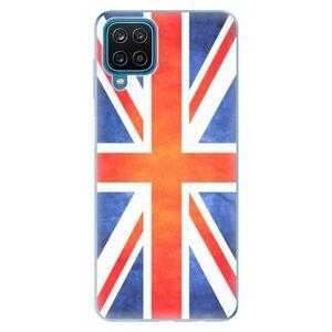 Odolné silikónové puzdro iSaprio - UK Flag - Samsung Galaxy A12