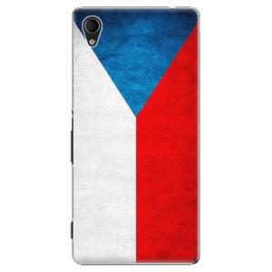 Plastové puzdro iSaprio - Czech Flag - Sony Xperia M4