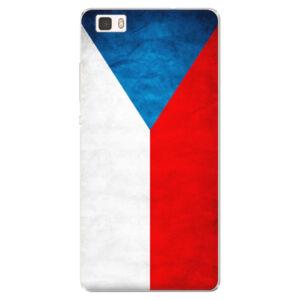 Silikónové puzdro iSaprio - Czech Flag - Huawei Ascend P8 Lite