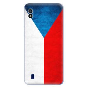 Odolné silikónové puzdro iSaprio - Czech Flag - Samsung Galaxy A10