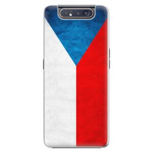 Plastové puzdro iSaprio - Czech Flag - Samsung Galaxy A80