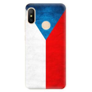 Odolné silikónové puzdro iSaprio - Czech Flag - Xiaomi Mi A2 Lite
