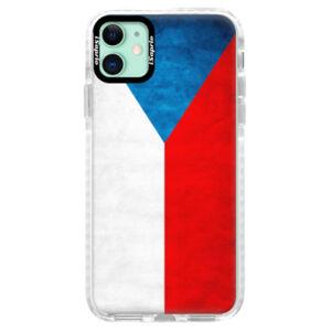 Silikónové puzdro Bumper iSaprio - Czech Flag - iPhone 11