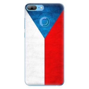 Odolné silikónové puzdro iSaprio - Czech Flag - Huawei Honor 9 Lite