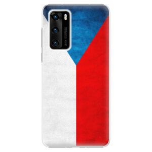 Plastové puzdro iSaprio - Czech Flag - Huawei P40